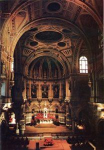 Pre-restored Image of Interior Church