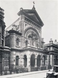 Old Image of Exterior of Church