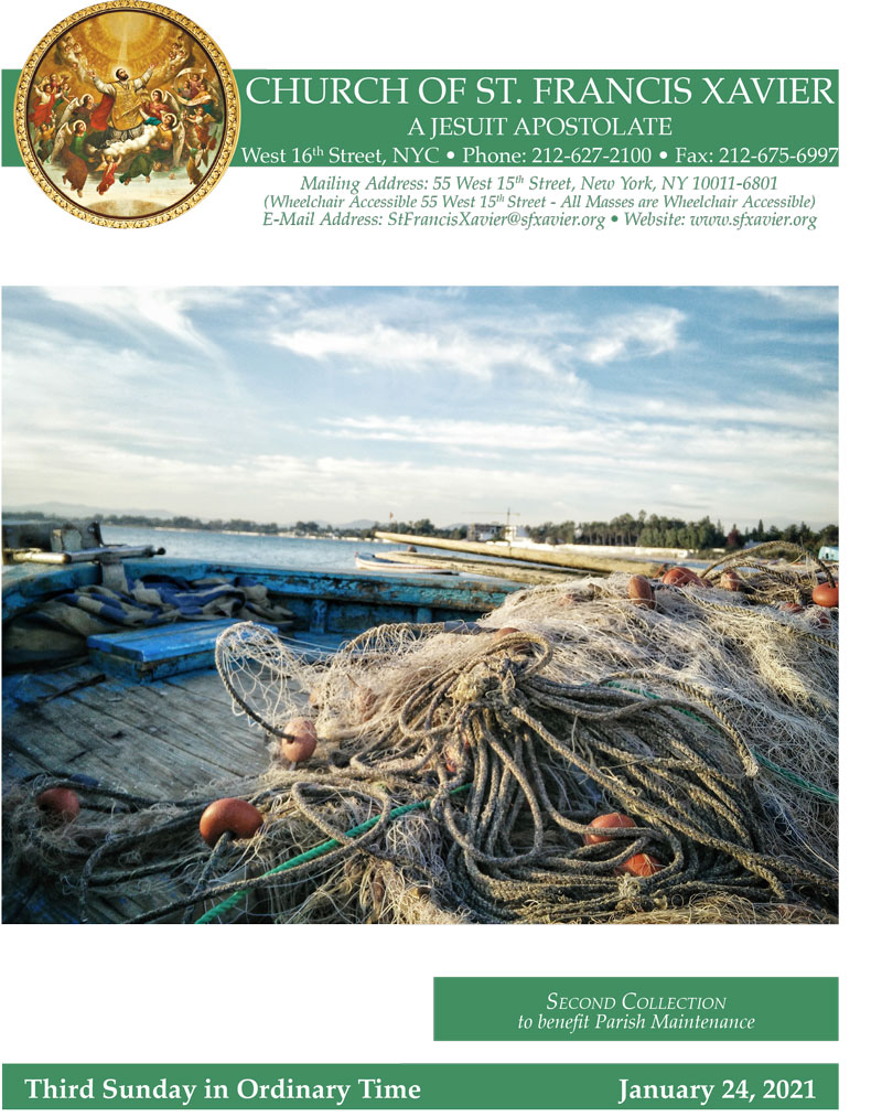 Bulletin Cover January 24, 2021