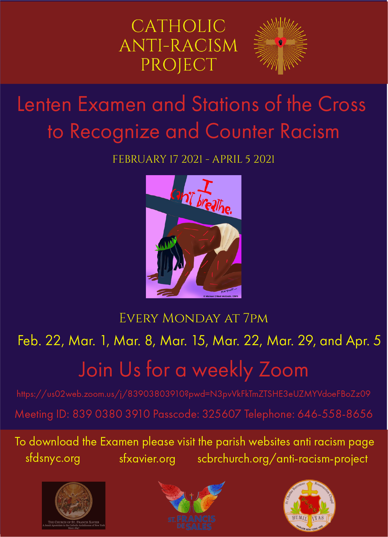 Lenten Examen and Stations of the Cross to Recognize and Counter Racism