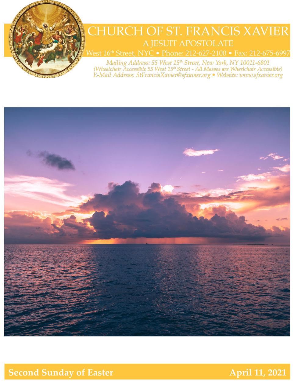 Bulletin Cover April 11, 2021