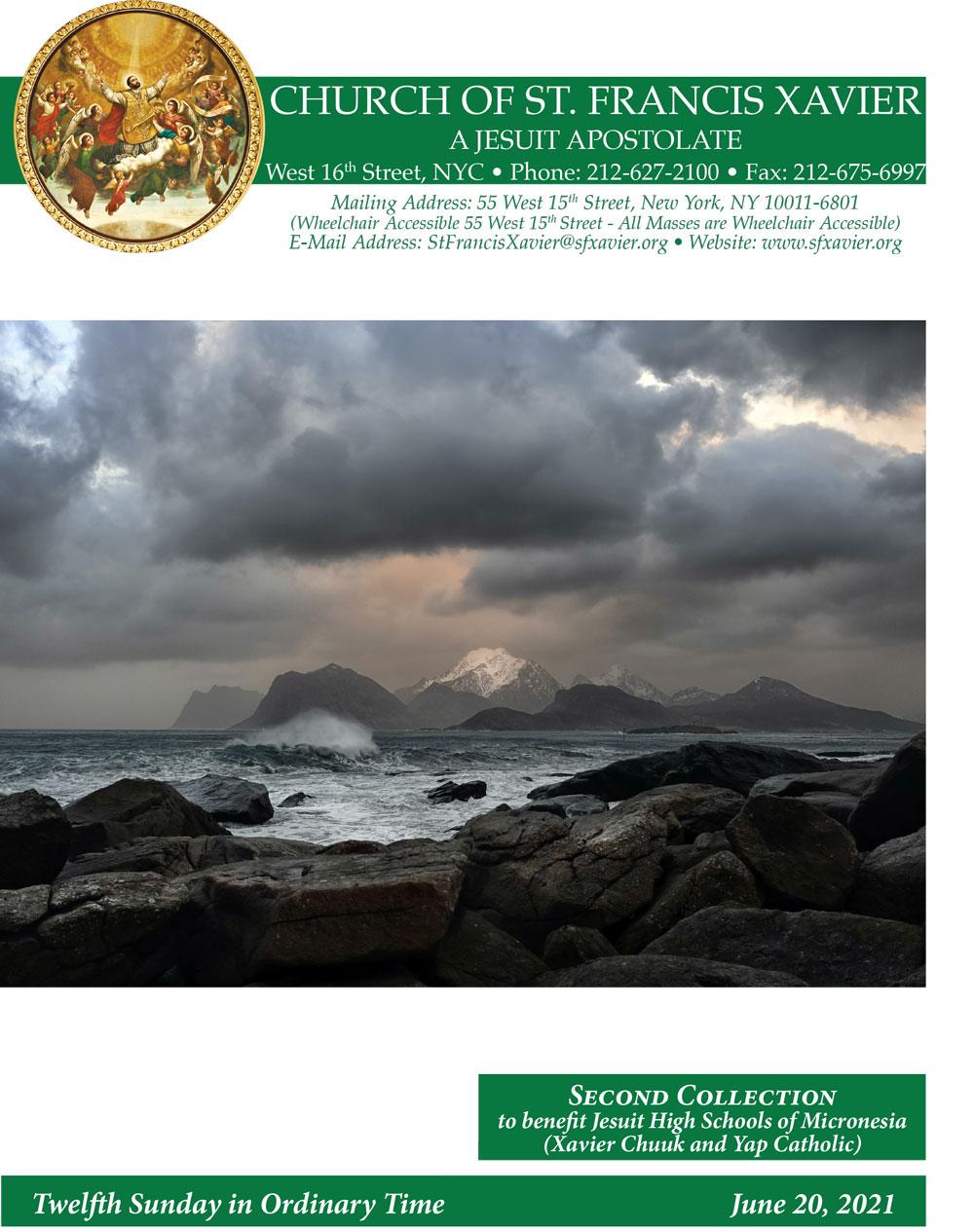 Bulletin Cover June 20, 2021